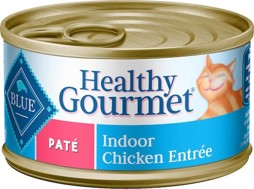 Blue Buffalo Healthy Gourmet cat food for weight loss
