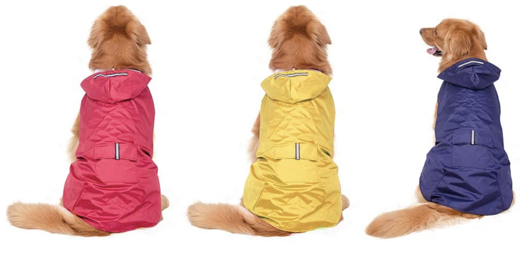 Large Dog Clothes Raincoat