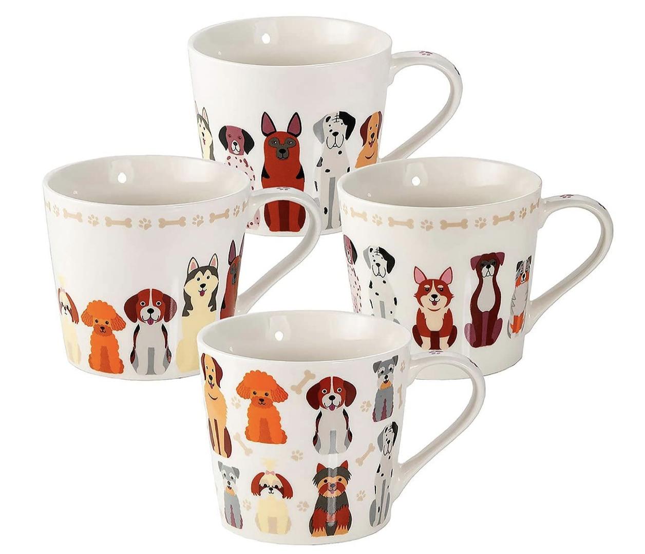Dog Mum Gifts Coffee Mugs