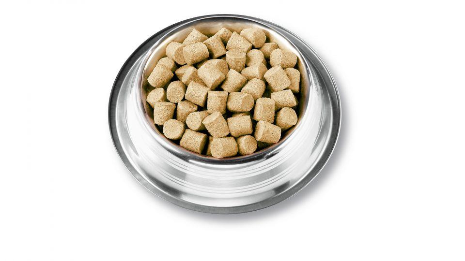 Raw, freeze-dried dog food by Instinct