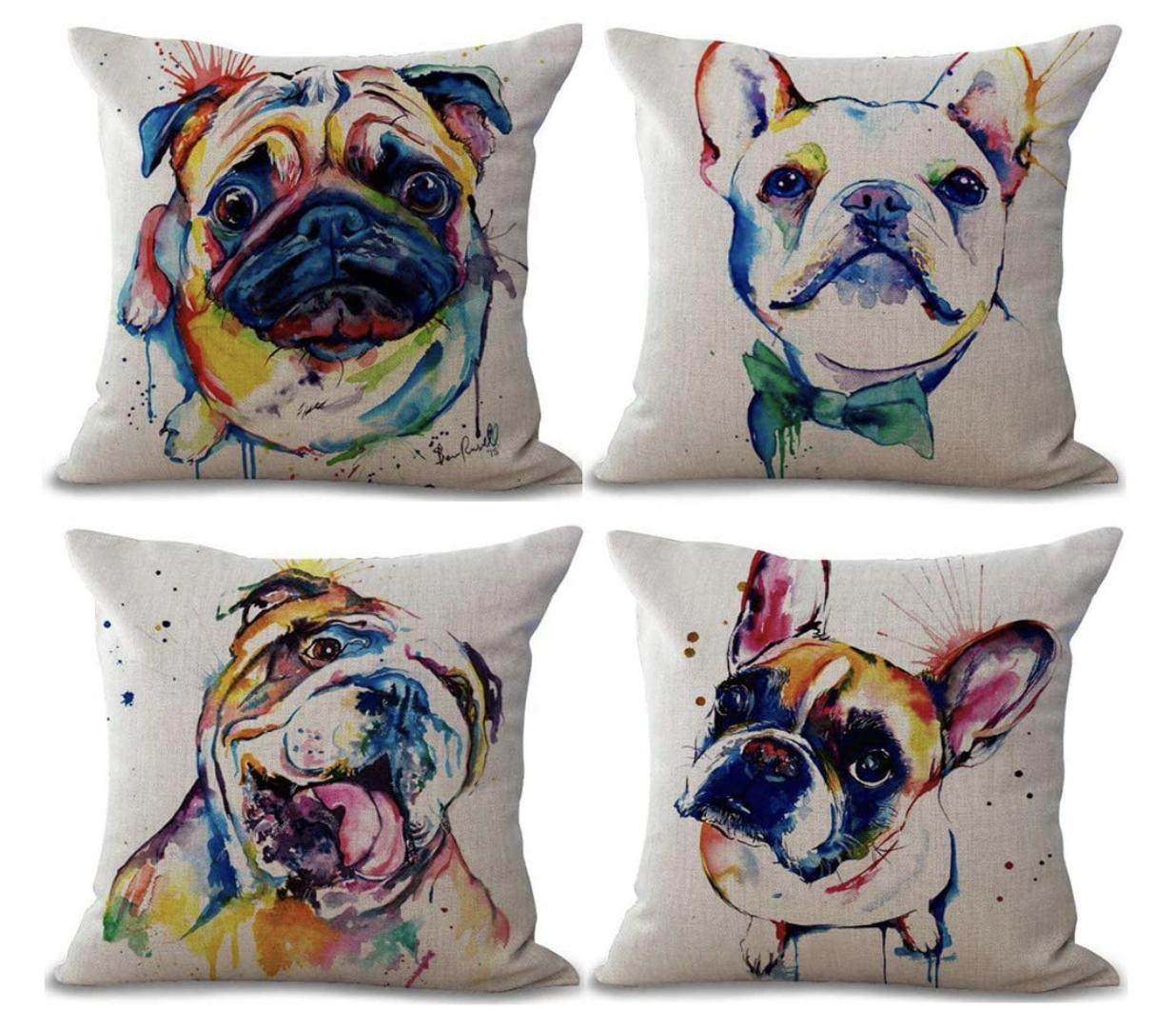 Dog Mum Gift Cushions