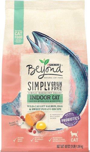 Purina Beyond 500 indoor cat healthy cat food salmon recipe