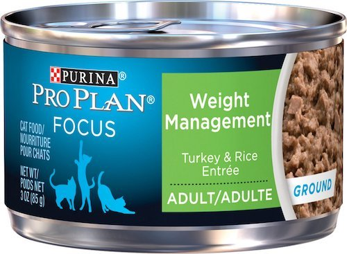 Purina Pro Plan cat food for weight loss