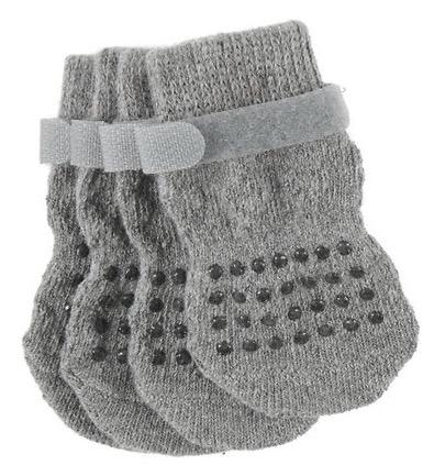 Frisco Cable Knit Dog Socks