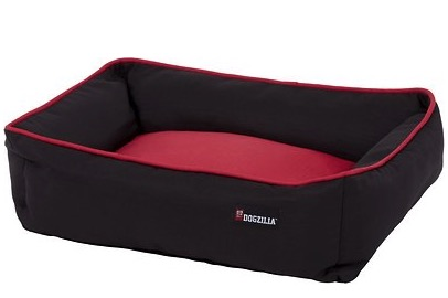 Dogzilla Rectangular Lounger Bolster Dog Bed