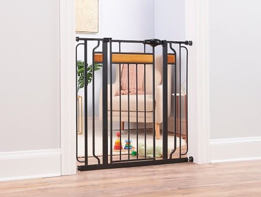 Regalo Home Accents Extra Tall Walk-Through Gate