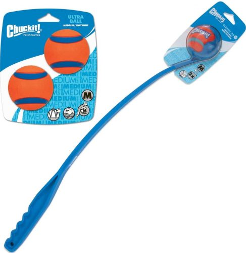 Chuckit! Ultra Rubber Ball + Classic Launcher Dog Toy