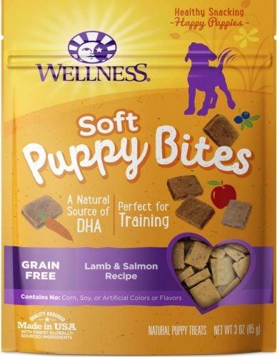 Wellness Soft Puppy Bites training treats