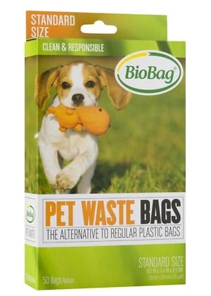 BioBag biodegradable dog poop bags