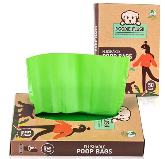 Doodie Flush Poop Bags