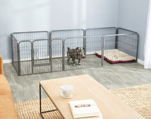 Paws & Pals Heavy Duty Portable Wire Dog Playpen