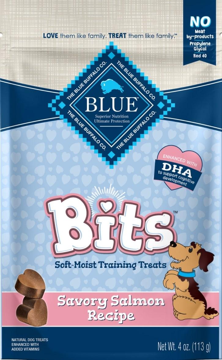 Blue Buffalo Blue Bits Savory Salmon Training Dog Treats
