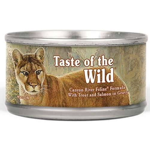 Taste of the Wild healthiest canned cat food
