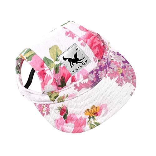 floral print spring visor