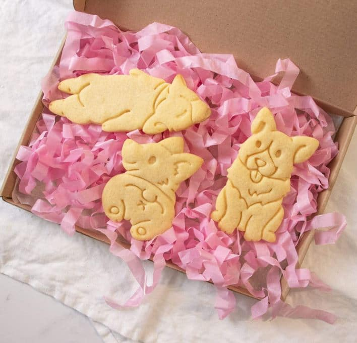 Corgi Gift Cookie Cutters