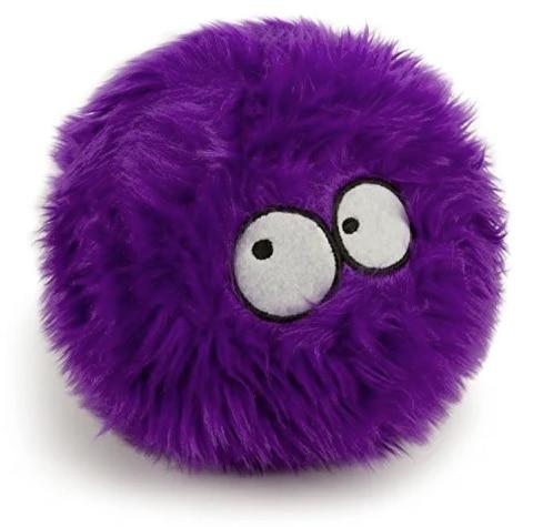 GoDog purple plush dog toy