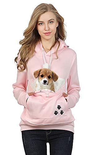 Pet Carrier Pouch Hooded Sweatshirt