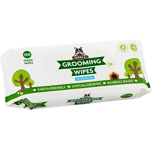 grooming wipes pack