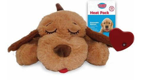 Smart Pet Love dog toy with a heartbeat