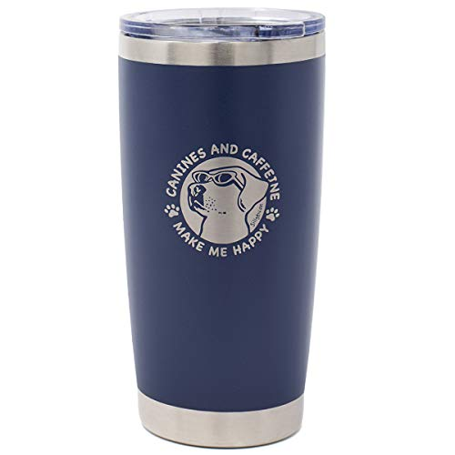 Dog Lover Coffee Lover Insulated Tumbler