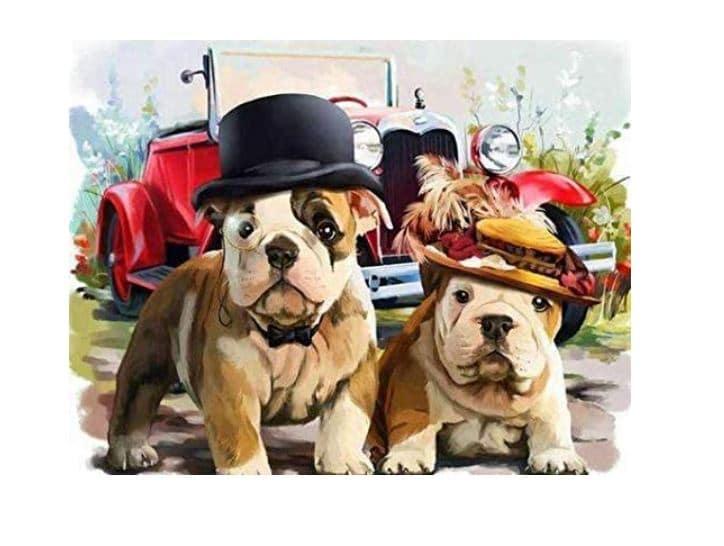 Bulldog Gift Painting