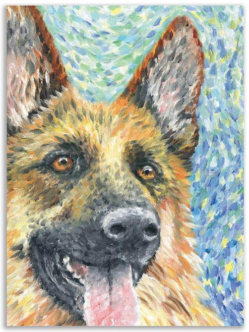German Shepherd Gift Card