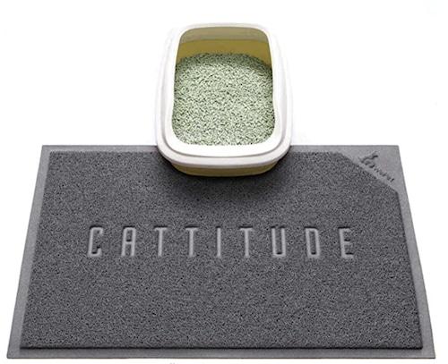 Cattitude mat
