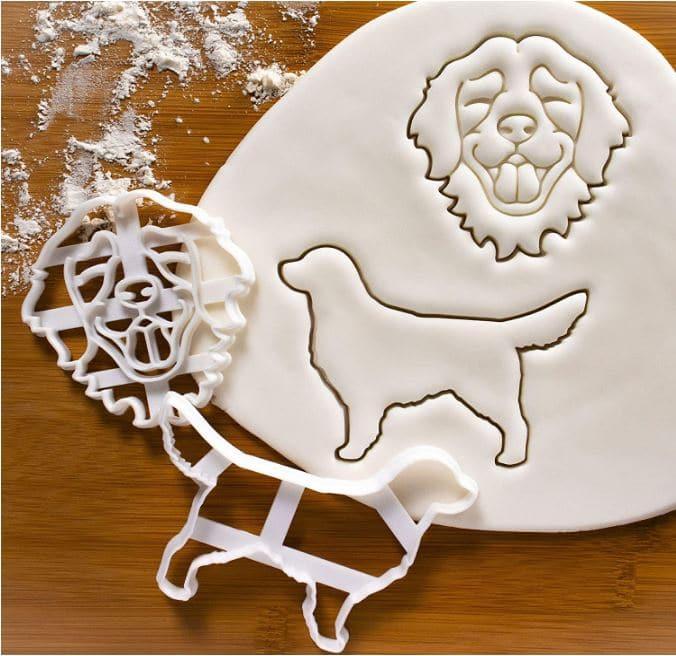 Golden Retriever Gift Cookie Cutter Set