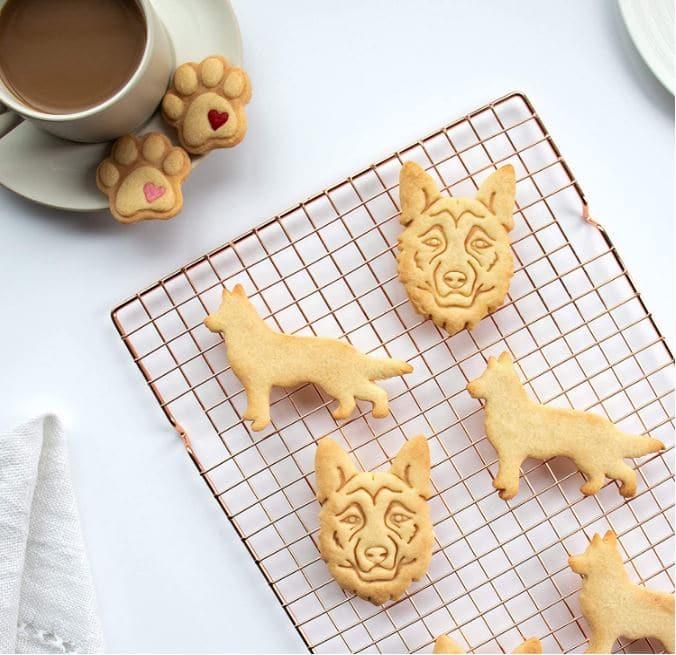 German Shepherd Gift Cookie Cutter