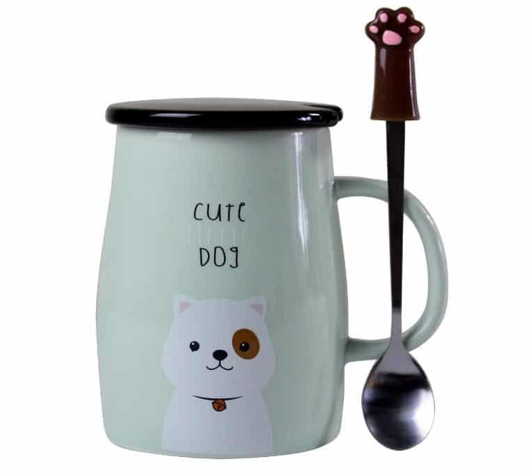 Dog Mum Mug and Spoon