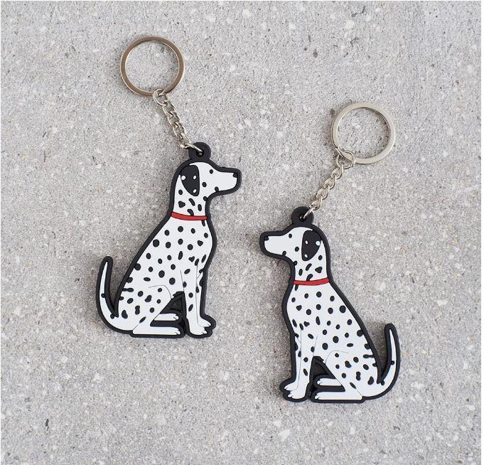 Dalmatian Gift Keyring