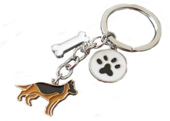 German Shepherd Gift Keyring