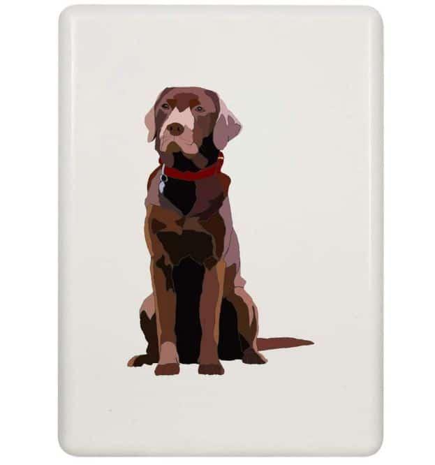 Labrador Gift Fridge Magnet