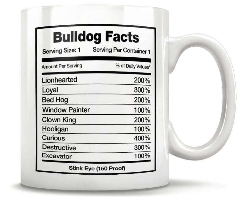 Bulldog Gift Mug