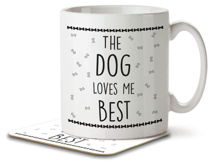Dog Mum Mug & Coaster