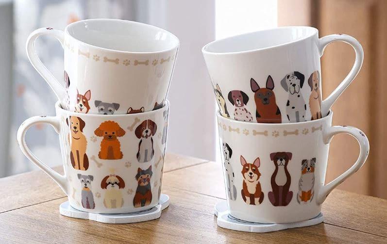 Dog Mum Mug Gift Set