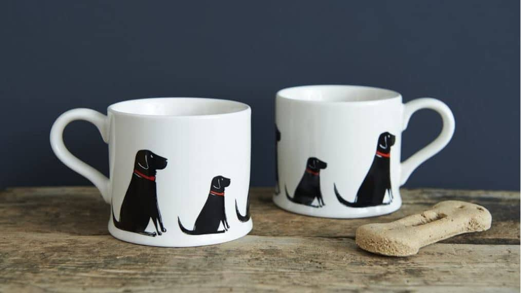 Black Labrador Mug Gift