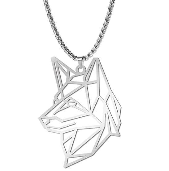 German Shepherd Gift Necklace