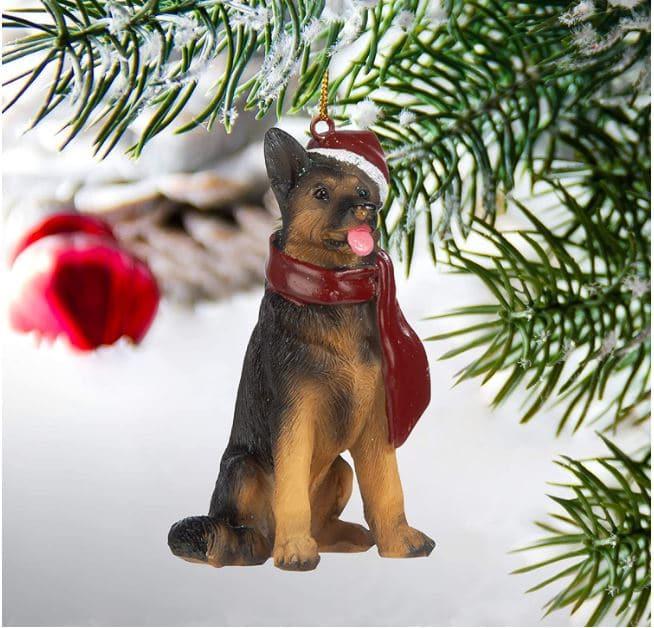 German Shepherd Gift Ornament