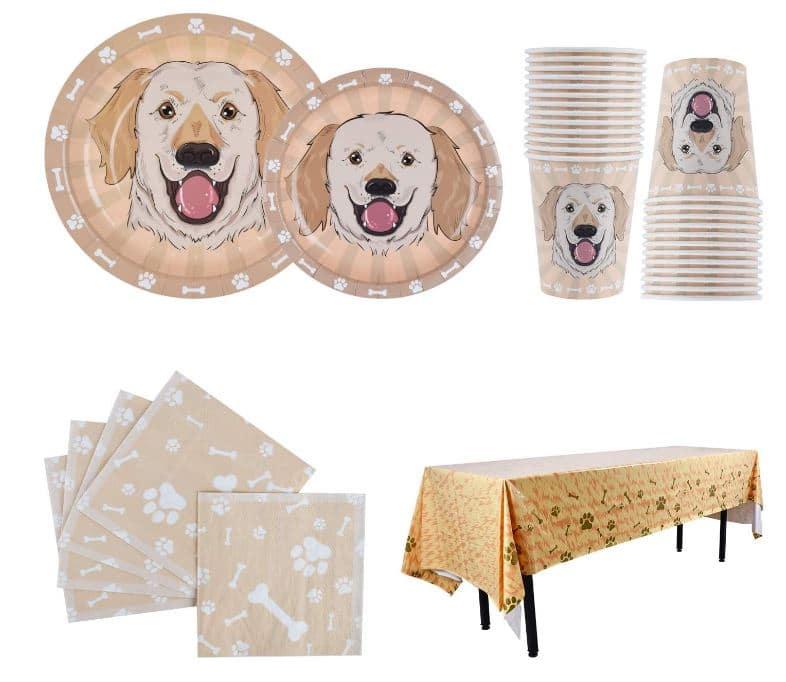 Labrador Gift Party Set