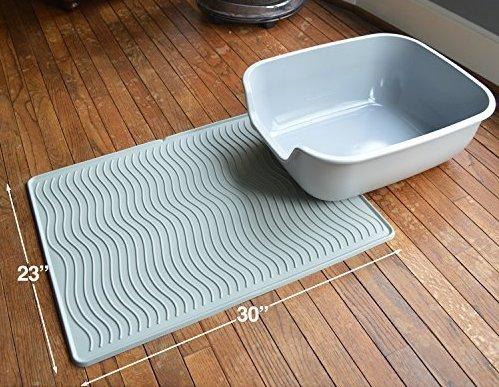 Petfusion mat with litter box