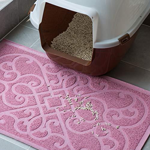pink PetLike cat litter mat