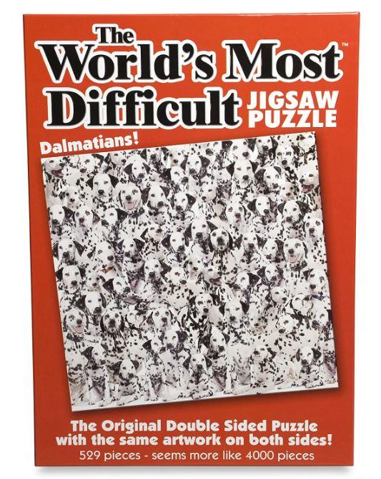 Dalmatian Gift Puzzle