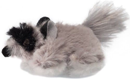 Fluffy Pet Zone raccoon cat toy