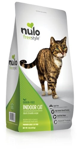 Bag of Nulo freestyle food for indoor cats