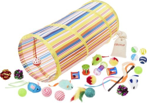 All Kind cat toy variety pack with kitten teething toys