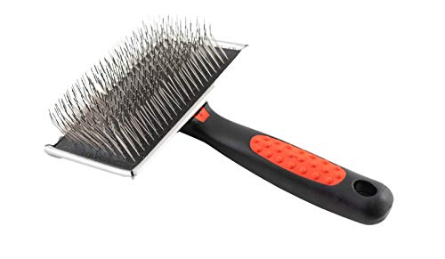 Paw Brothers slicker brush with long wire bristles