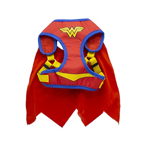 red Wonder Woman harness with attached cape