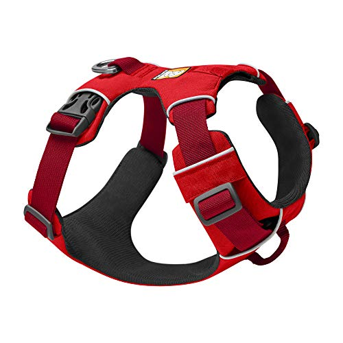 Red Ruffwear harness for dogs