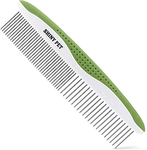 Shiny Pet stainless steel cat comb